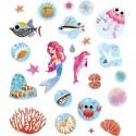 Set d'autocollants Stickers Sirènes - Janod