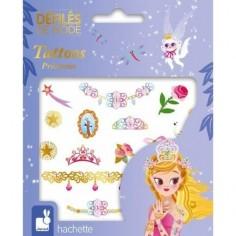 Tatoos - Tatouages lavables Princesses - Janod