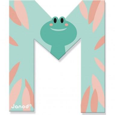 Lettre en bois M - Pure - Janod