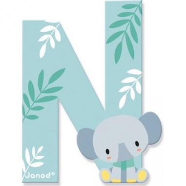 Lettre en bois N - Pure - Janod