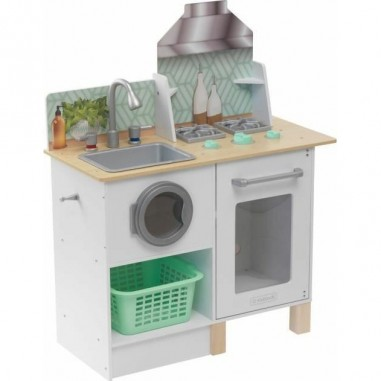Cuisine enfant en bois et buanderie Whisk & Wash - Kidkraft