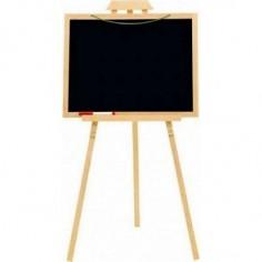 Tableau Chevalet créatif en bois - Jeujura