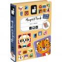 Puzzle magnétique Animaux - Mix & Match - Janod