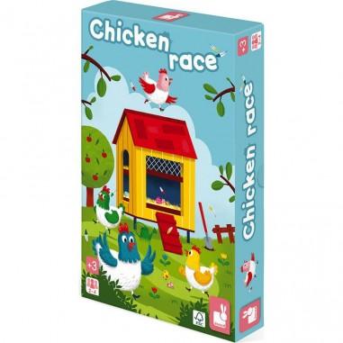 Jeu de parcours - Chicken Race - Janod