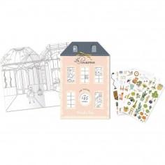 Cahier d'autocollants - Les Parisiennes - Moulin Roty