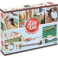 Circuit billes et dominos Zig & Go - Big Boum Wall - Djeco