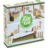 Parcours bille et Domino - Zig & Go - Curve - 27 pièces - Djeco