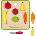 Plateau Fruits et Legumes en bois Chunky - Janod