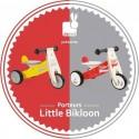 """Porteur en bois """"Little Bikloon"""" Rouge et Blanc - Janod"""