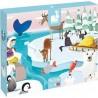 Puzzle tactile la vie sur la banquise - Janod