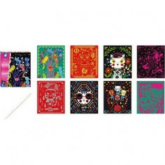 Stickers Papier Chevaux -...