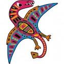 "Cartes à gratter ""Scratch Art Dinosaures Silhouettes"" - Janod"