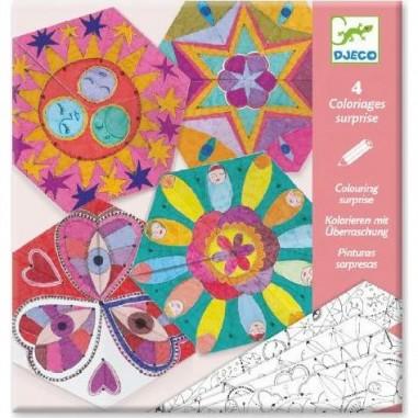 "Coloriages Surprises ""Mandalas Constellations"" - Djeco"