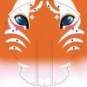 Trophée Tigre strass et paillettes DIY - Janod