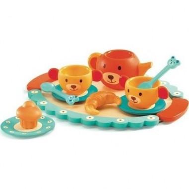 """Dinette """"Le Gouter de Teddy"""" - Djeco"""