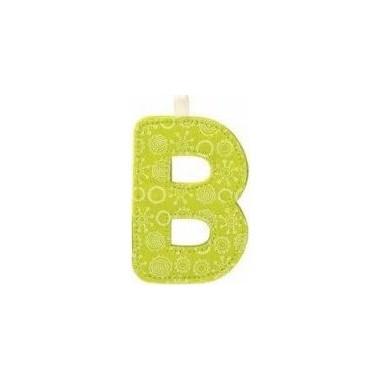B lettre en tissu - Lilliputiens