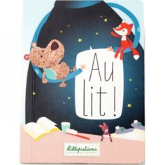 """Livre """"Au Lit!"""" - Lilliputiens"""