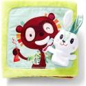 "Livre en tissu ""Petit Lapin Dentiste"" - Lilliputiens"