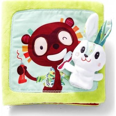 "Livre en tissu ""Petit Lapin Dentiste""..."